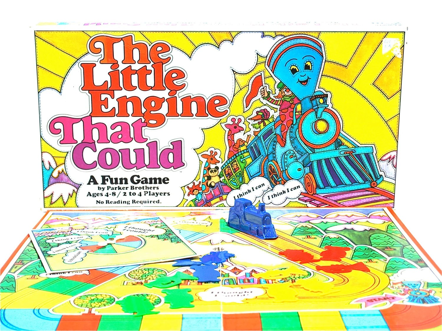 The Little Engine That Could Game By Parker By Wonderlandtoys