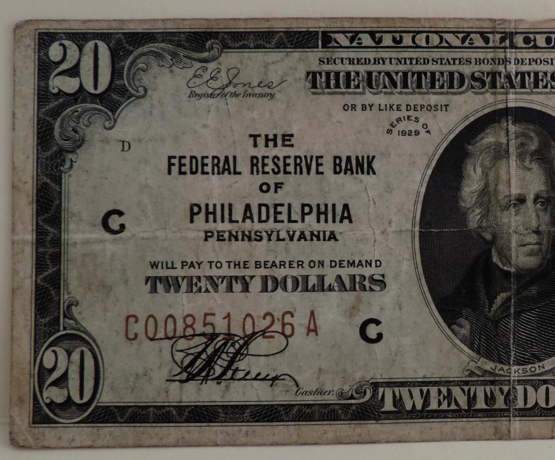 20 Dollar Bill The Federal Reserve Bank Of Philadelphia