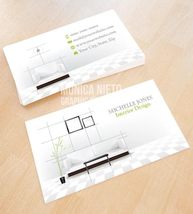 Interior Decorating Business Cards Psoriasisgurucom