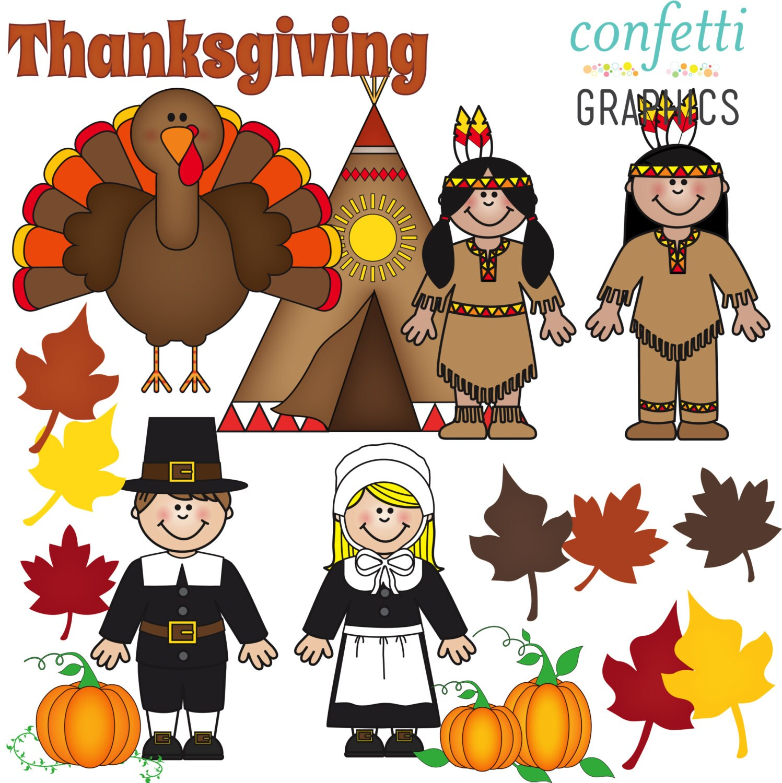 Thanksgiving November Pilgrim Native American Indian Teepee