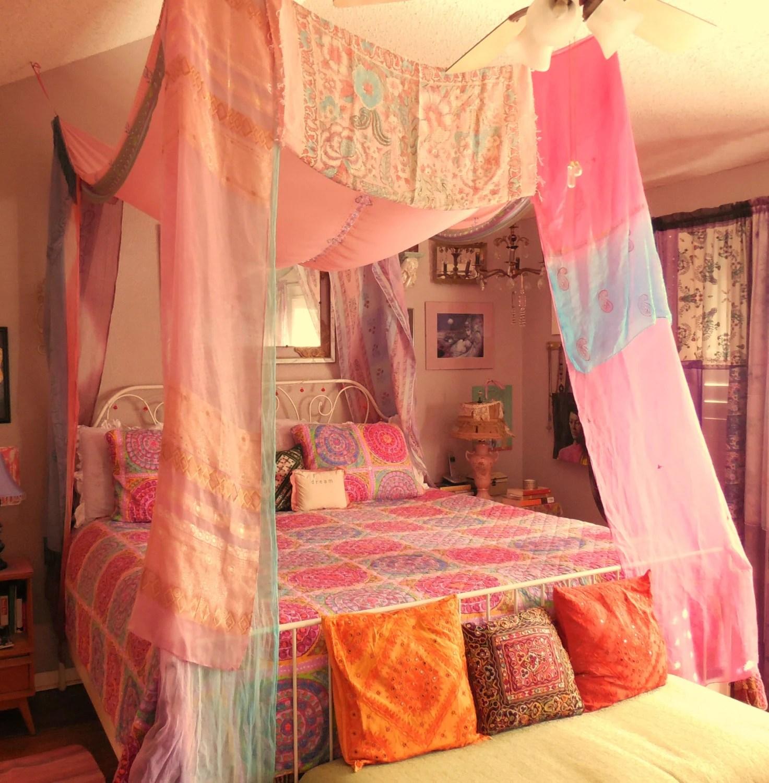 Bohemian Gypsy BED CANOPY