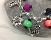 Charm Bracelet - Halloween Themed Charms