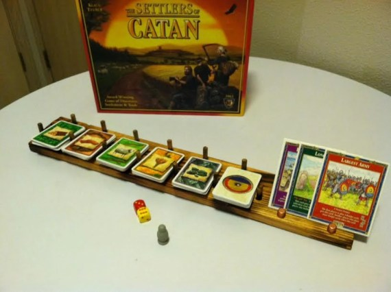 Catan Card holder
