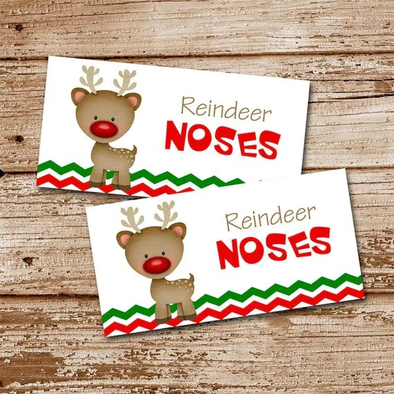 Search Results For Free Reindeer Noses Printable