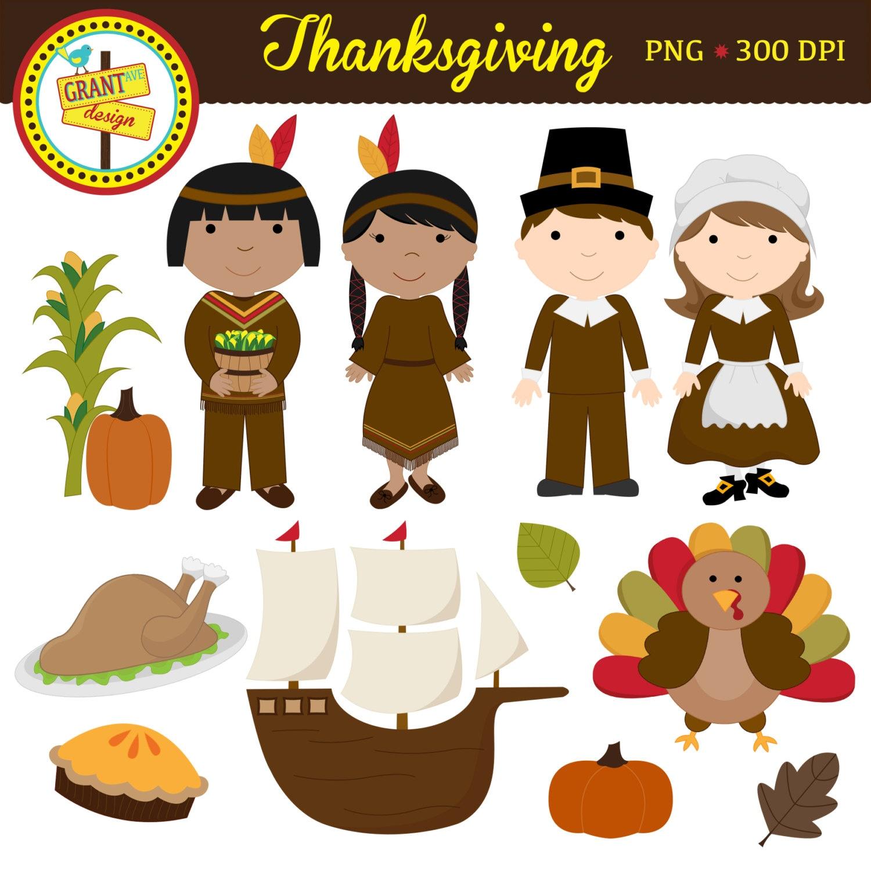 Thanksgiving Clipart Thanksgiving Clip Art Cute Digital