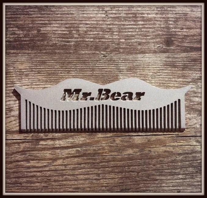 The Mr Bear Comb - MrAndMrsBearFamily