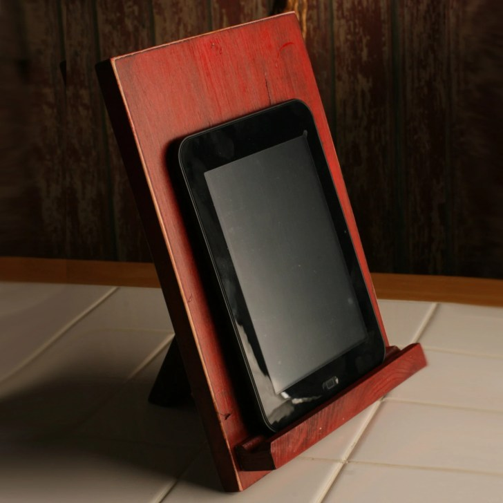 Ipad Stand Kindle Tablet Kitchen Recipe Holder Chef Gift