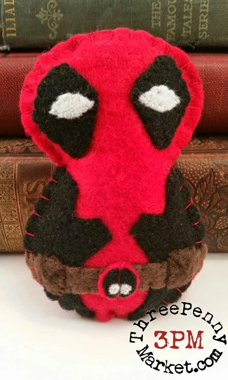Deadpool plushie (made to...