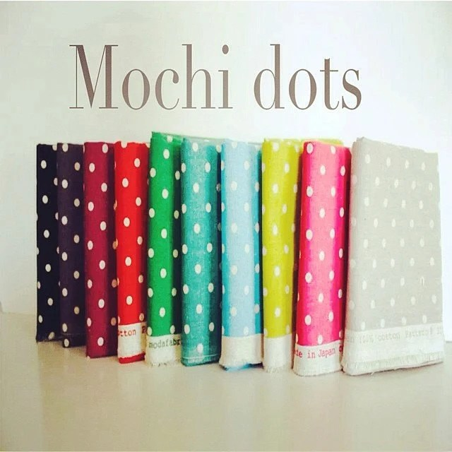 Mochi Linen Dots by Momo for Moda Fabrics, Fat Quarter bundle 11 total