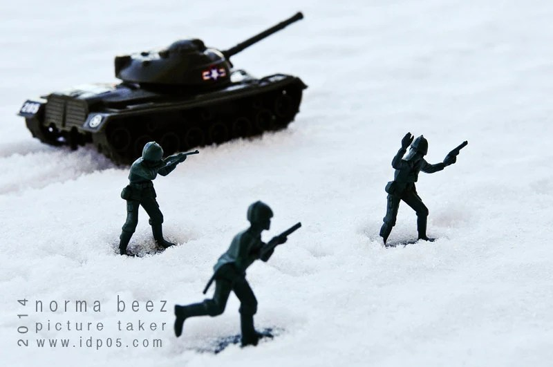 Lets GO - Army Men Series; Winter Edition