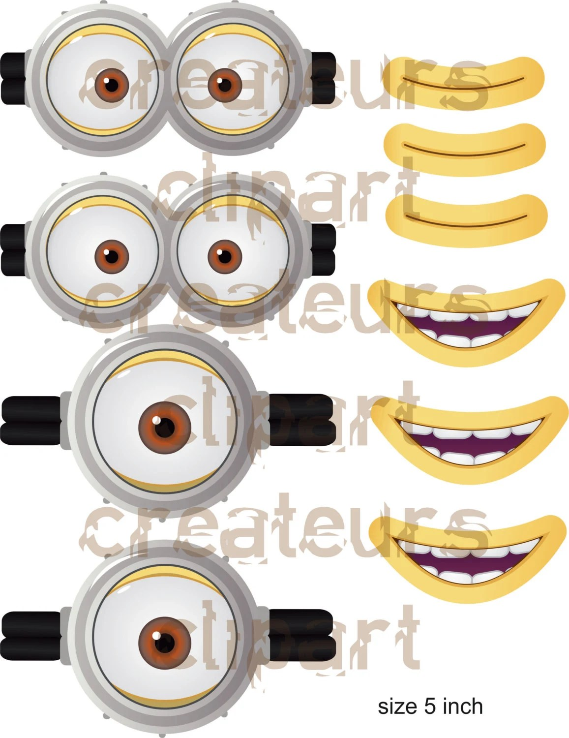 picture about Minion Goggles Printable named Minion Goggle Template. minion goggles template minion
