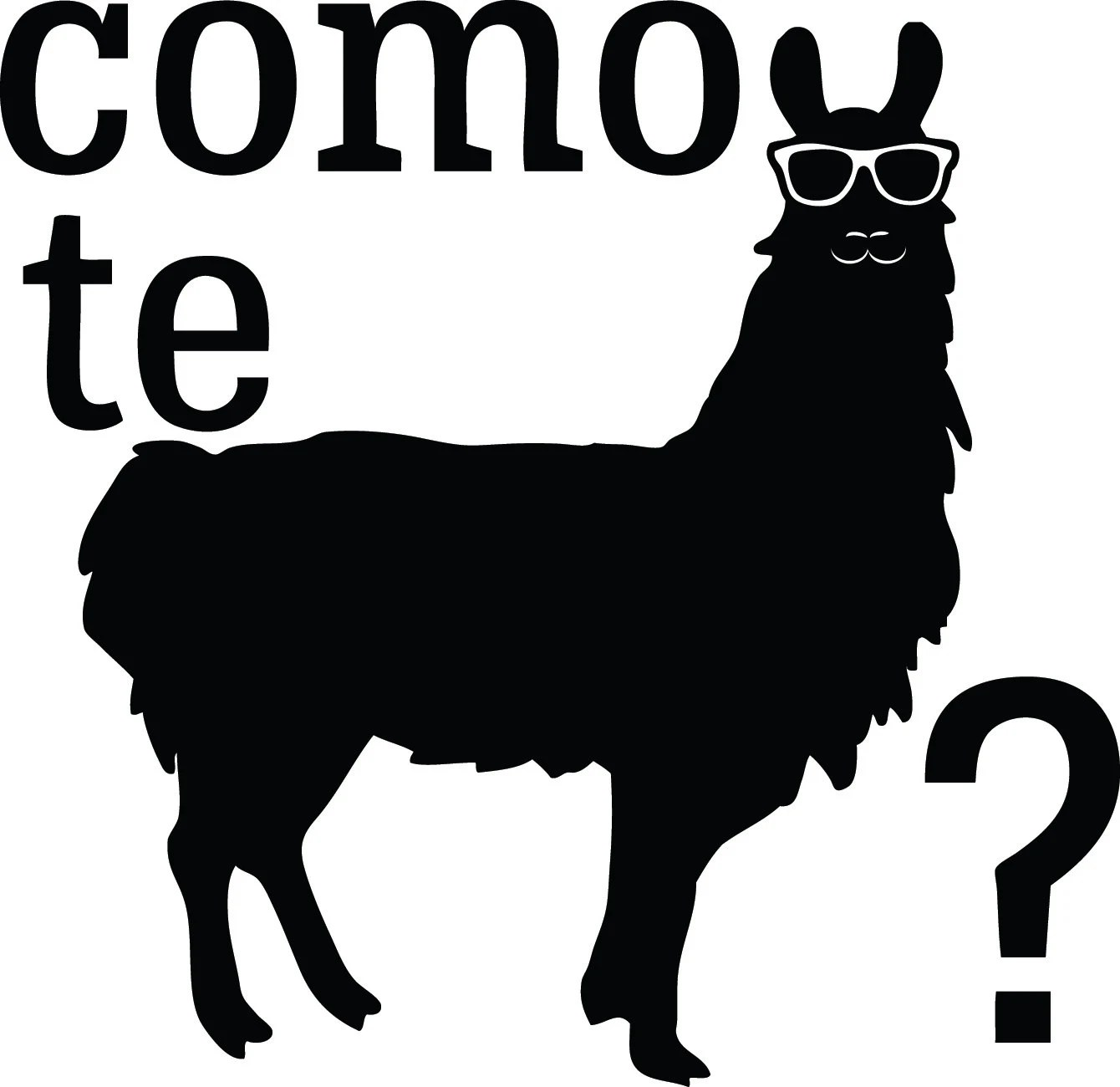 Spanish Funny Como Te Llama Decal Sticker By Stickedecals