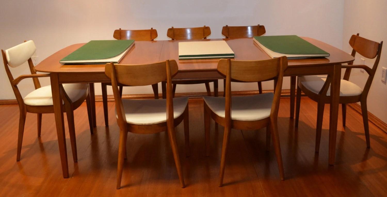 Kipp Stewart For Drexel Heritage Mid Century Modern Dining