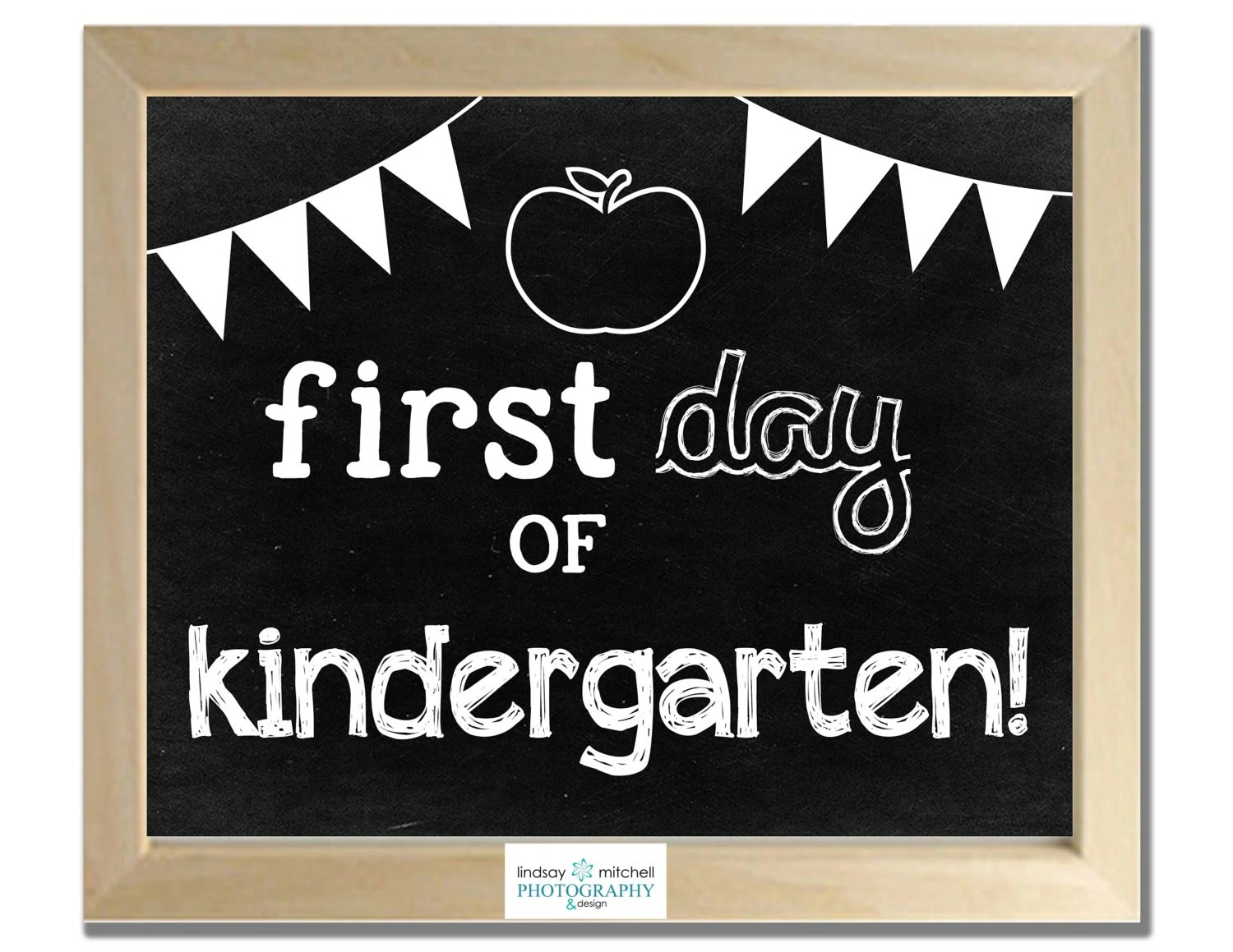 Back To School Chalkboard Printables By Lmpcustomdesign On Etsy