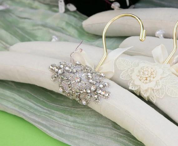 Bridal Hanger Wedding Hanger Custom Embellished With
