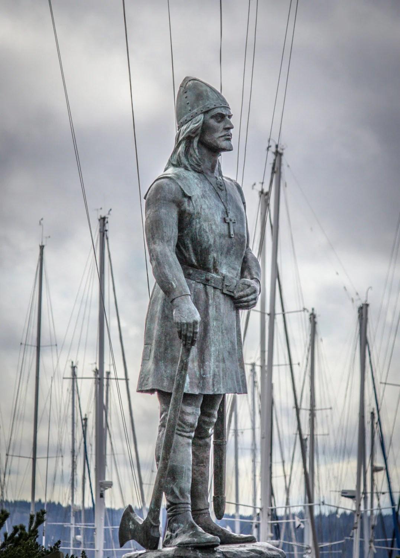 Leif Erickson Viking Photographic Print Taken In The
