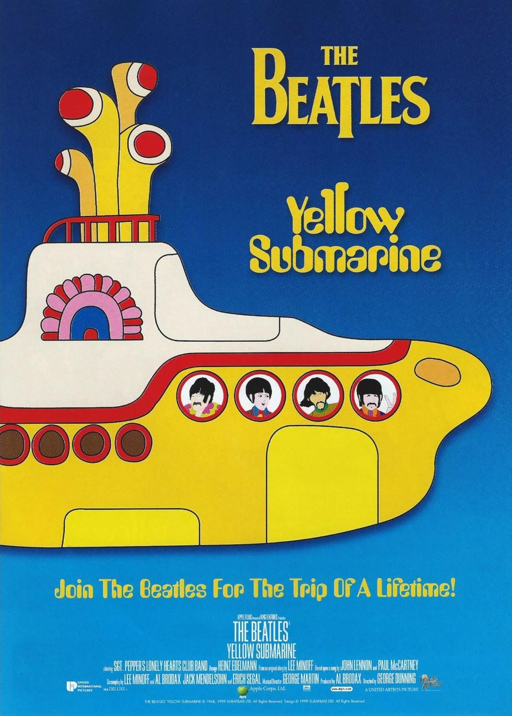 Yellow Submarine Chirashi Poster