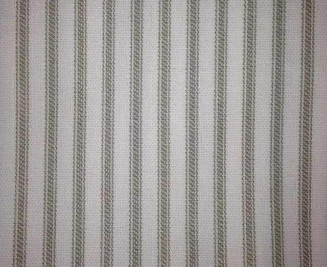 SAMPLES Ticking Stripe Shower Curtain Duvet And Bedding Fabric