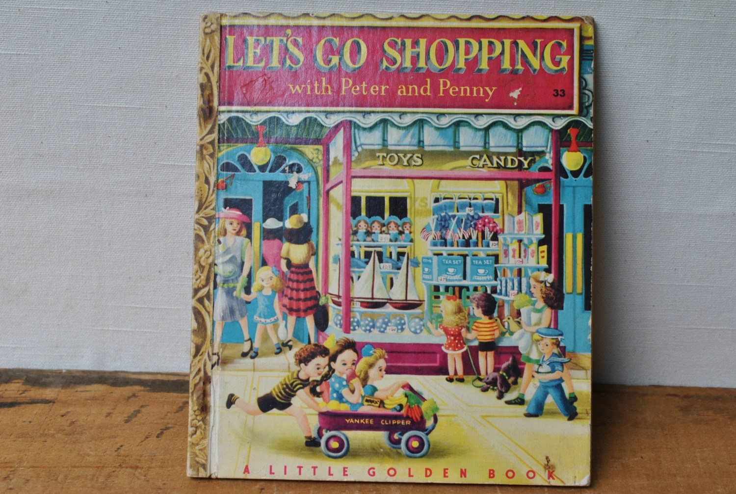 Little Golden Book Lets Go Shopping With Peter And Penny