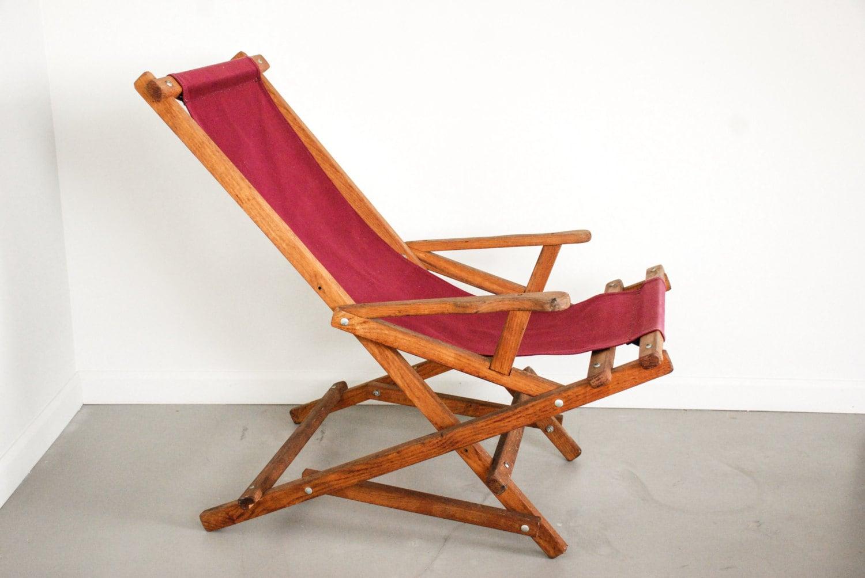 Deck Chair Canvas Chair Outdoor Chair Sling Chair