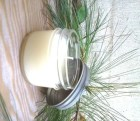 Peppermint Soy Candle 4 oz Mason Jar Holiday Gift, Christmas Candle, soy candles, stocking stuffer