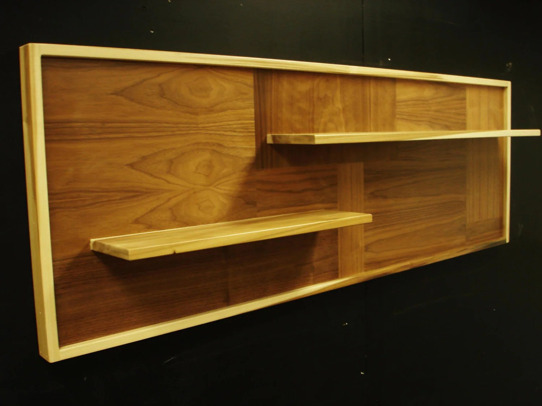 Mid Century Modern Shelf By MonkeHaus On Etsy
