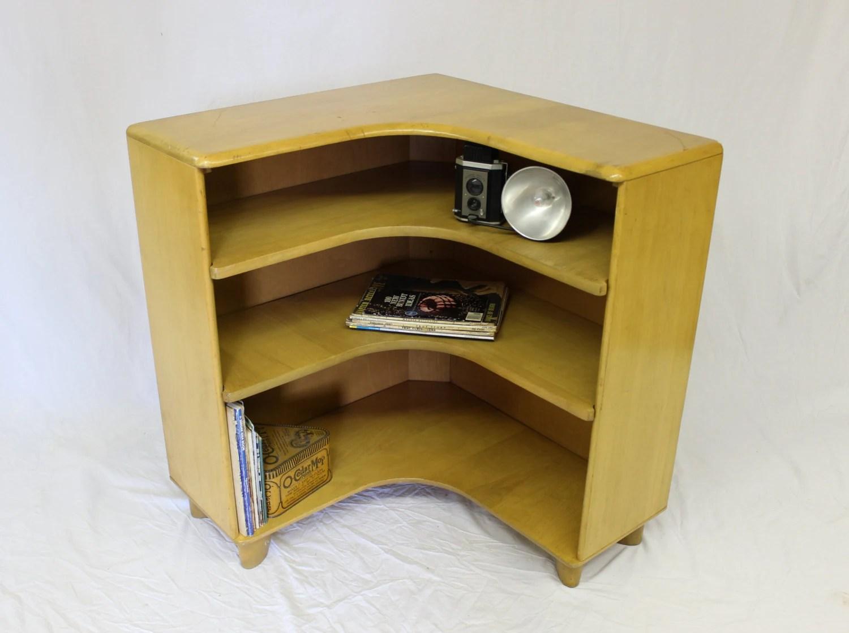 Mid Century Modern Heywood Wakefield Corner Bookcase M322