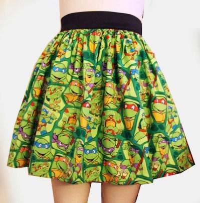 TMNT Full Skirt