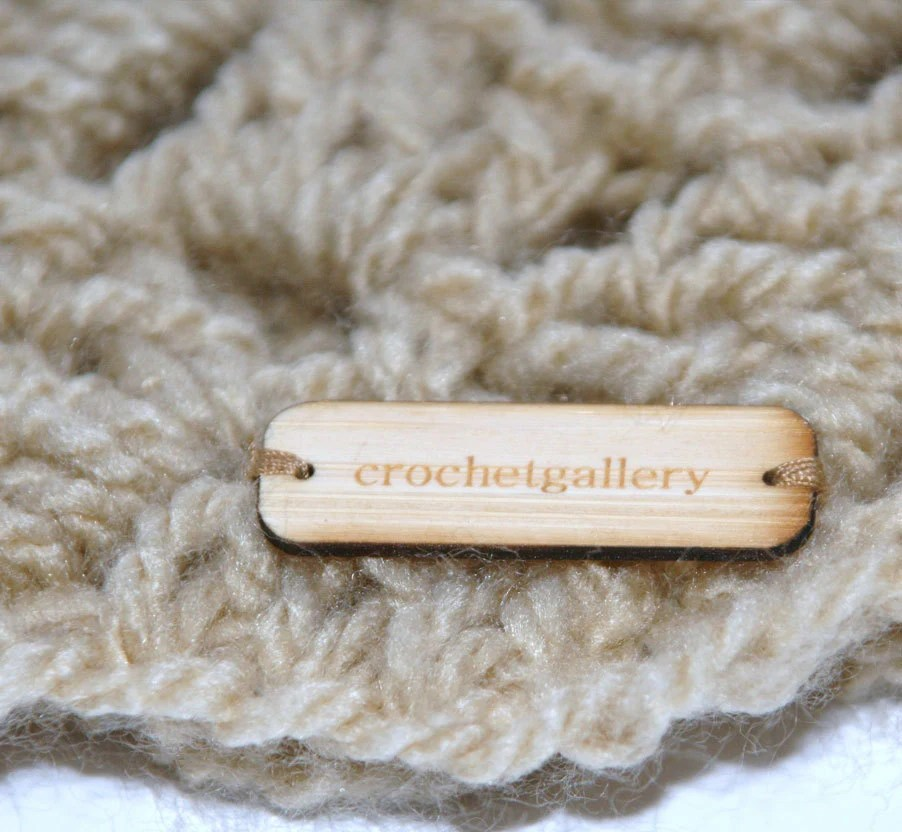 WOODEN TAGS or LABELS for garment & product branding - WoodKeeps