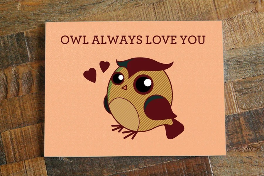 Download Love Greeting Card Owl Always Love You Cute Pun