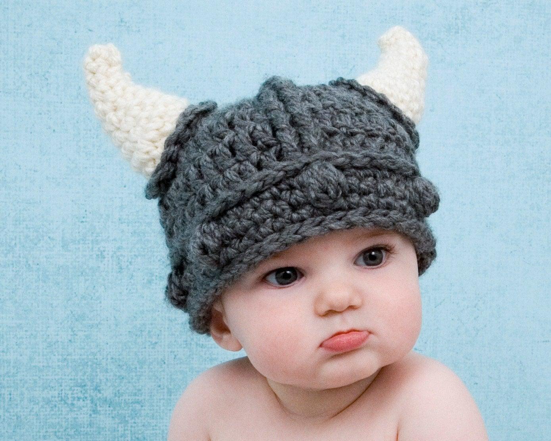 viking baby hat knight viking hat crochet minnesota