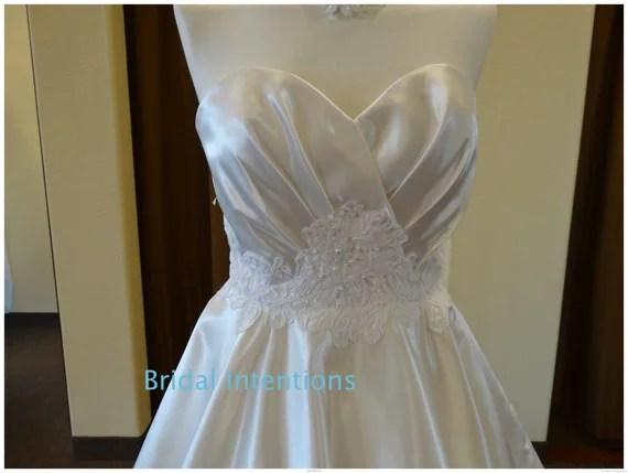 SAMPLE SALE Wedding Gown Tea Lengthwedding By BridalIntentions
