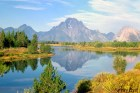 Nature Landscape photography - Grand Teton Moran, US national Park, Fine art home and office wall decor photograph