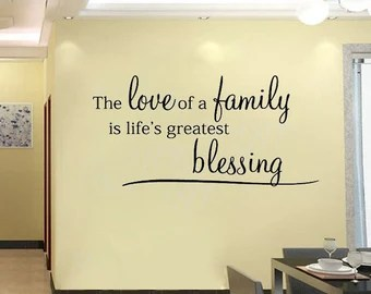 Download Popular items for blessing wall decal on Etsy