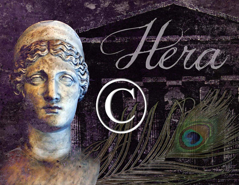 Greek Goddess Hera Poster Select Your Size By Jillpickleprints