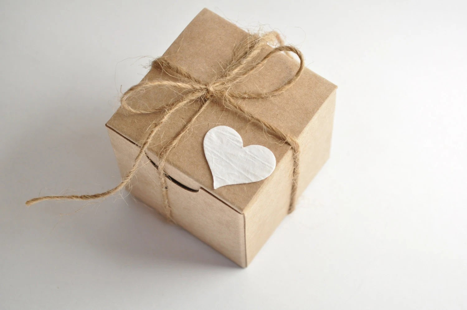 Rustic Wedding Favor Boxes 100 Boxes Kraft Favours Small