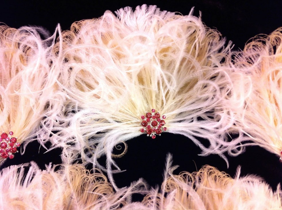 Wedding Bridesmaids Fascinators, Feather Fascinator, Ivory and Natural Peacock, Pink Rhinestones