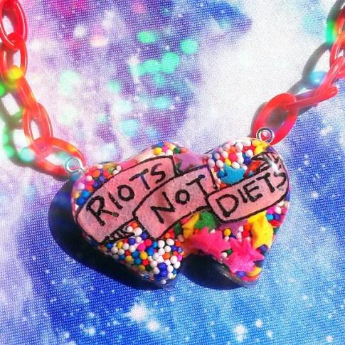 riot grrrl riots not diets