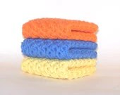 Cotton Crochet Washcloths - PrairieLoops
