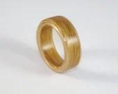 Oak Bent Wood Ring, Handm...