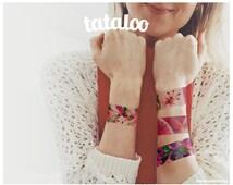 Articles Populaires Correspondant Faux Tatouage Fleurs