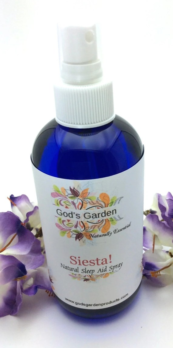 God's Garden|Siesta! Natural Sleep Aid Spray