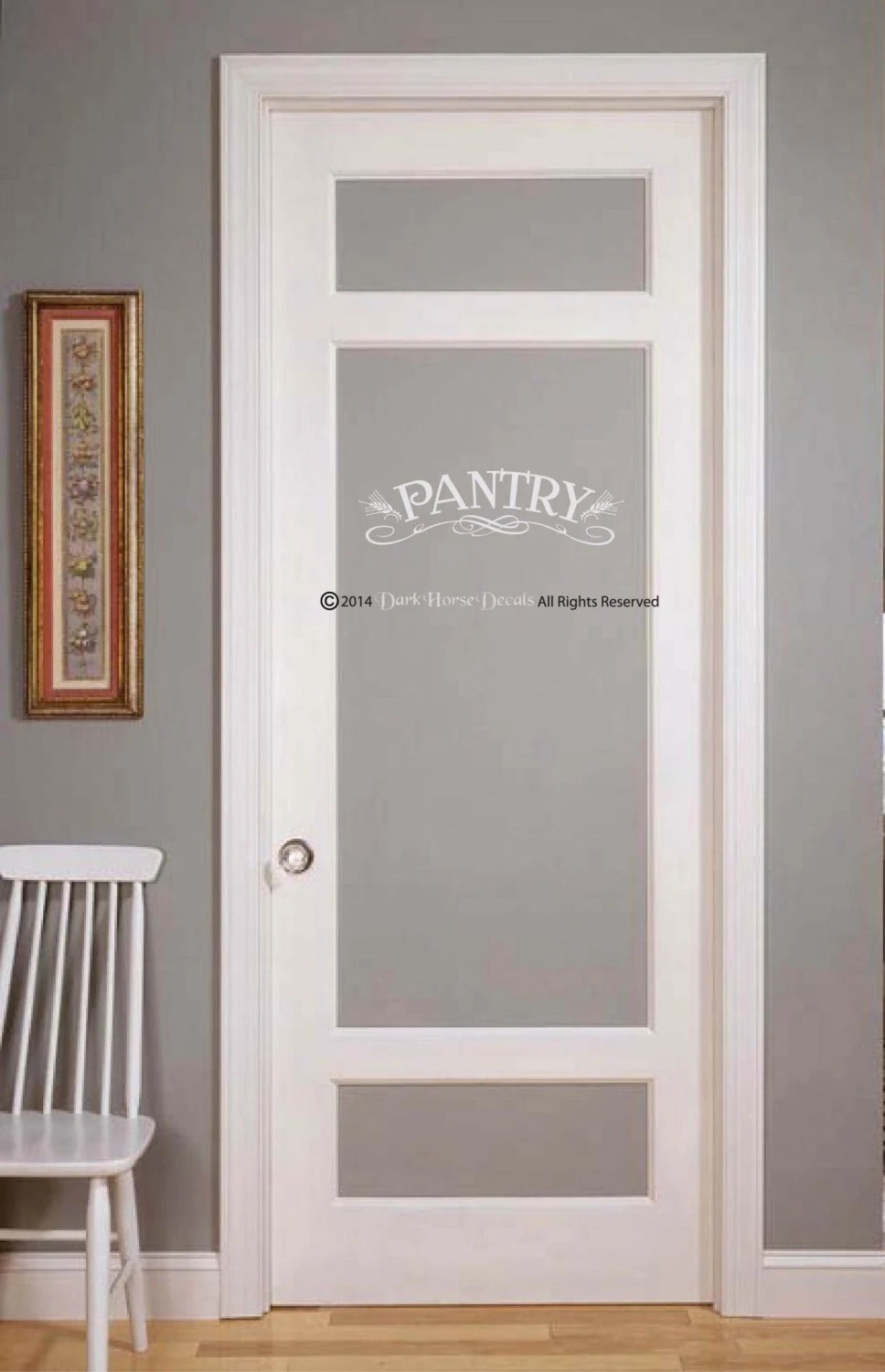 Pantry Decal For Wall Or Glass Door By DarkHorseDecals On Etsy