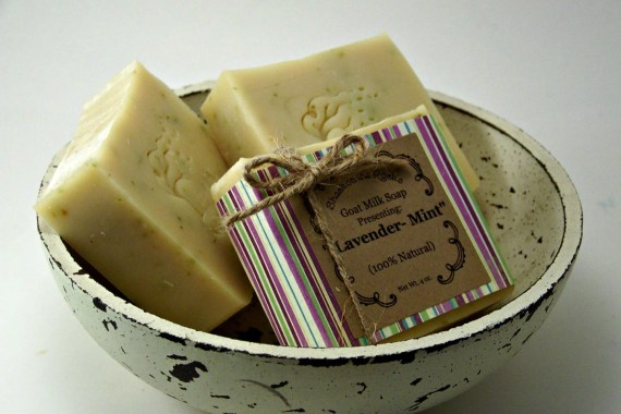Lavender Mint Soap - Shack on the Rock