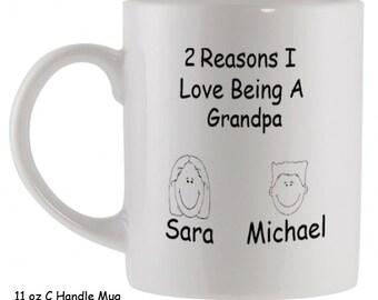 Download Reason I Love Being A Dad Custom Coffee Mug great