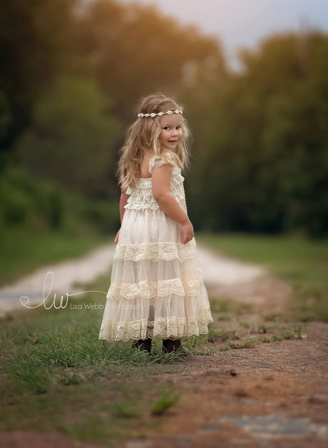 Lace Flower Girl Dress Flower Girl Dress Flower Girl