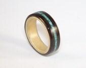 Bent Wood Ring - Macassar...