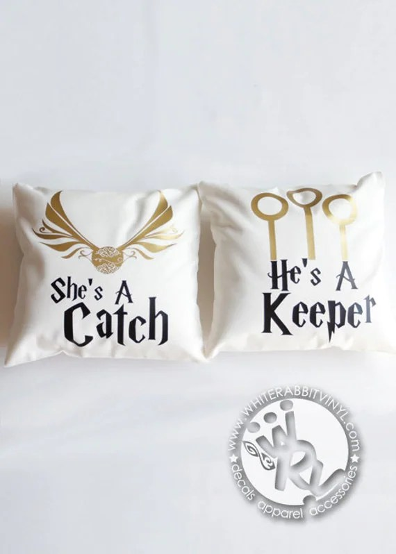 Harry Potter Catch Amp Keeper Pillow Cases By