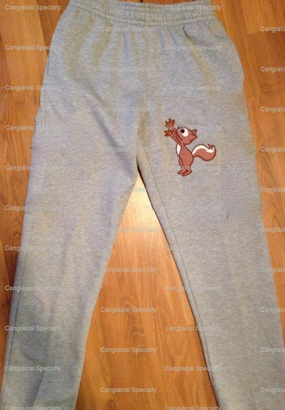 Squirrel Reaching For Nuts Sweatpants Valentines Gifts