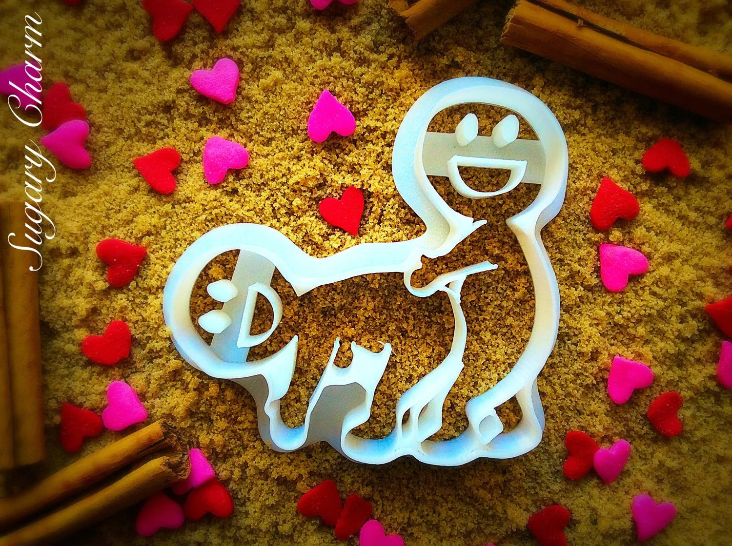 Valentines Day Cookies The Fan Cookie Cutter